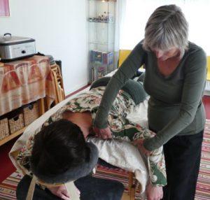 Dynamische massage Massagepraktijk Meander
